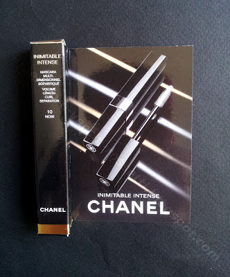 Chanel mascara Inimitable Intense #10 Noir campione gratuito