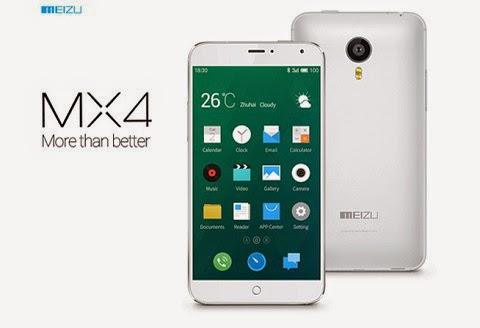 Meizu MX4 to Sell for P14,999, MT6595 & 20.7 MP Camera in Tow