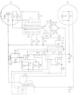 Принципиальная электрическая схема солемера