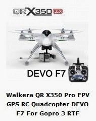 Walkera QR X350 PRO FPV con DEVO F7 - Banggood Shop -