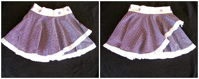 Circle Wrap Skirt Tutorial by Adventures of a DIY Mom