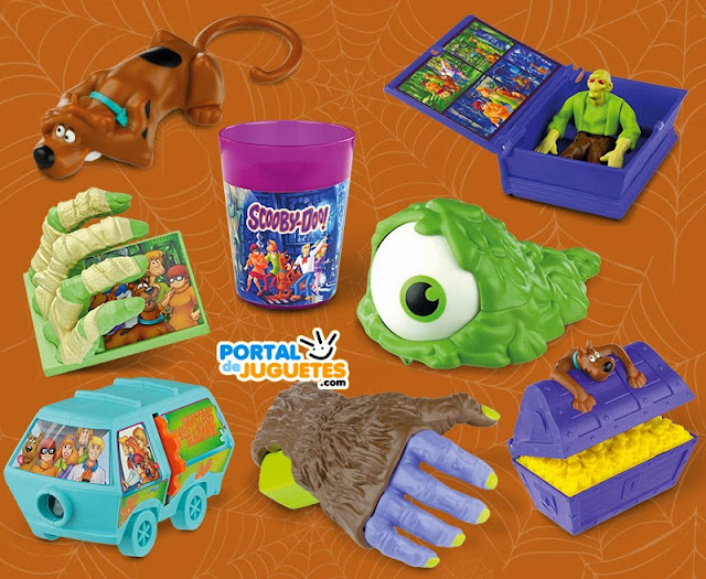 juguetes scooby doo happy meal mcdonalds coleccion completa