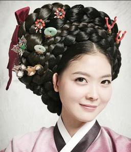 Korean Bun Hairstyle