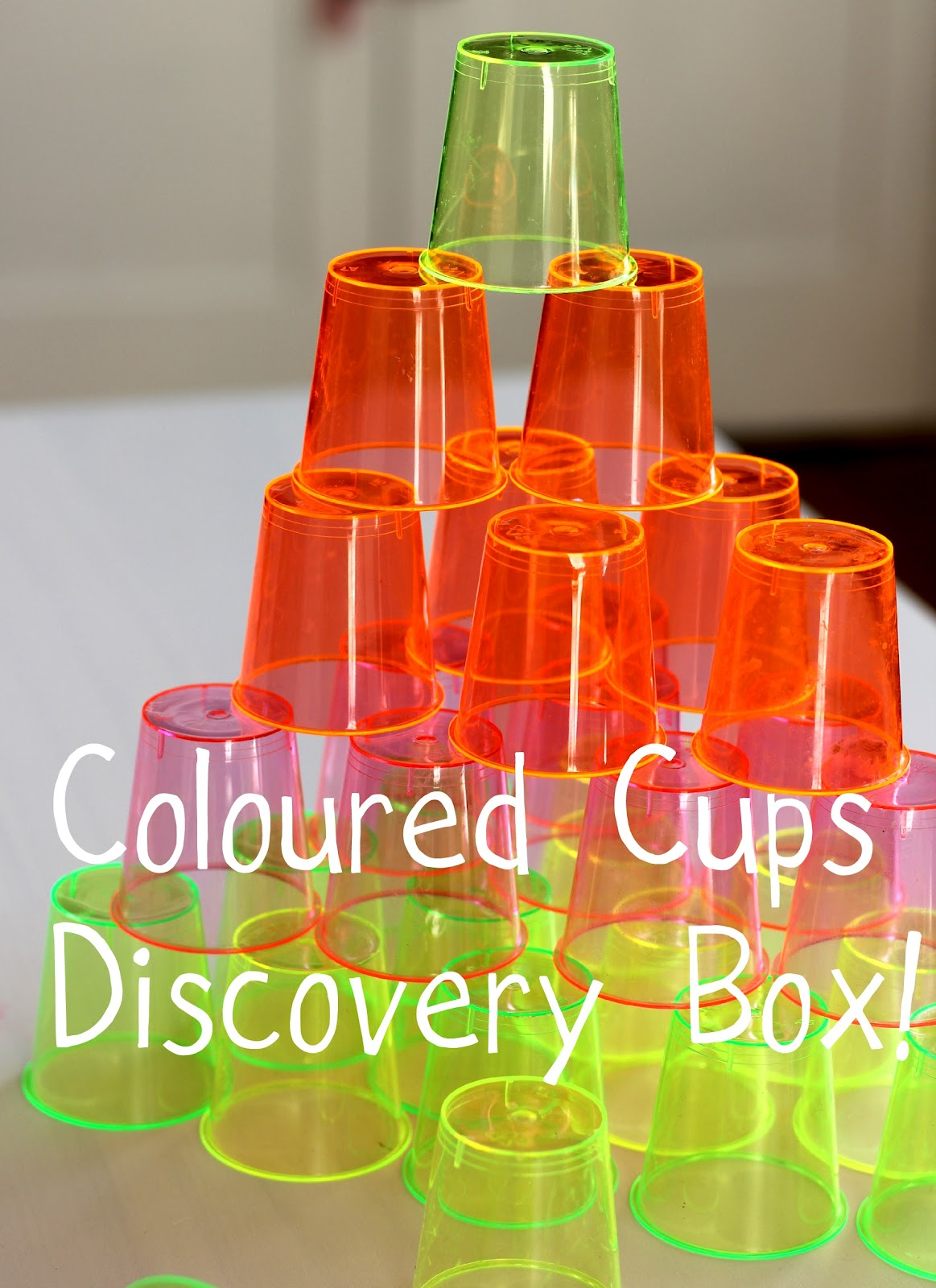 Discovery Box 13 Coloured Stacking Cups The Imagination