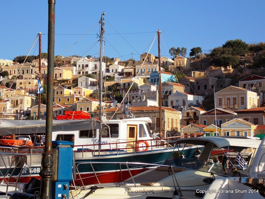 There is no shortage of places to eat and drink on Symi. We have ...