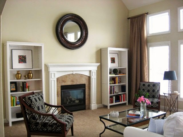 Neutral wall painting ideas for Neutral green paint colors for living room