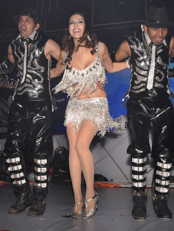 sunny  leone 2013 celebrations