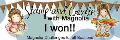 Winner @ S & C With Magnolia 28th March