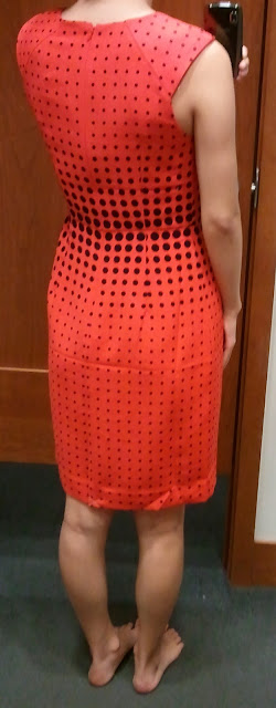 J. Crew Optic-Dot Dress