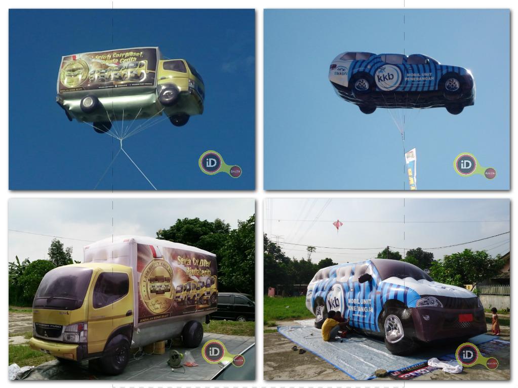 Balon Karakter Mobil