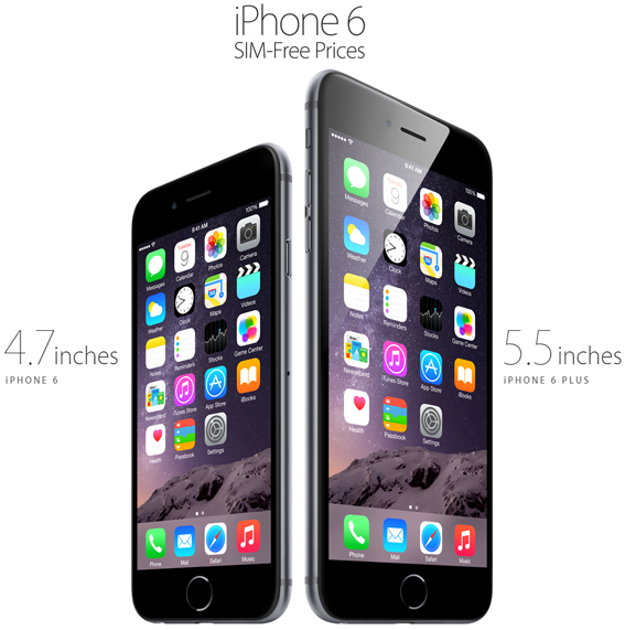 Official Unlocked iPhone 6 and iPhone 6 Plus Prices in USA, UK & Across Countries