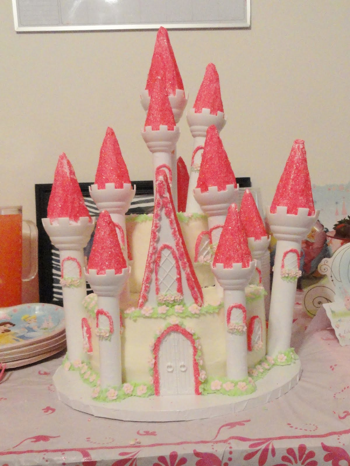 On The Back Burner Princess Bash The Decor The Cake