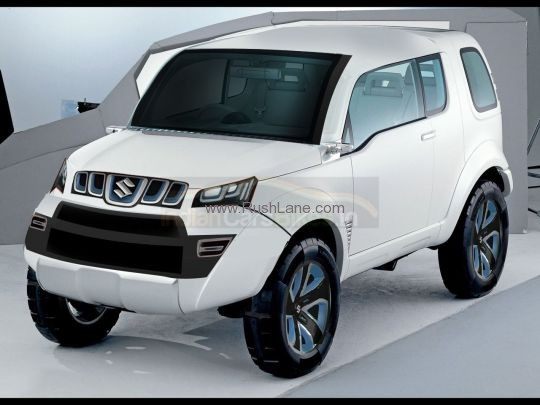 ran across this image from RushLane.com . Is this the new Suzuki Jimny