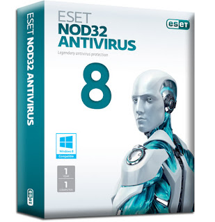 NOD32 AntiVirus 8.0.312.0 (32 bit & 64 bit) LifeTime Crack Full Version