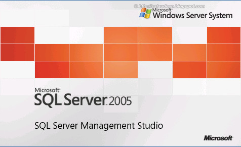 SQL Server 2005 Management Studio Splash Screen