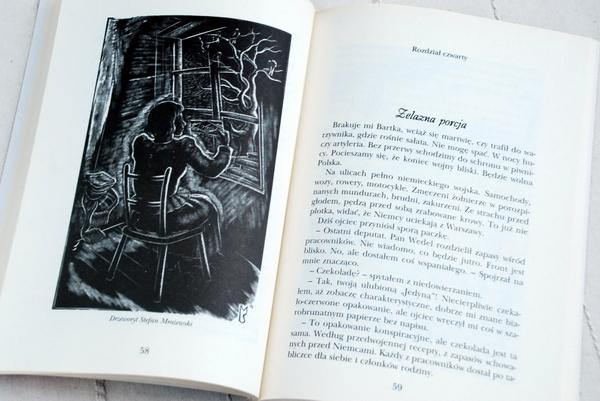 Wnętrze książki, jeden z drzeworytów