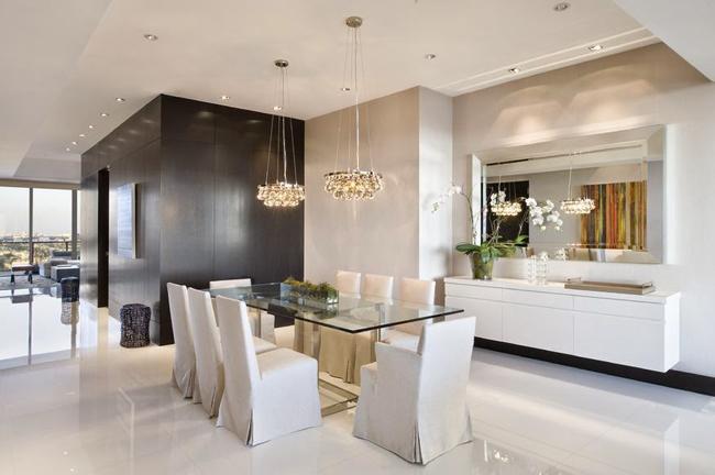 Casas minimalistas y modernas comedores modernos y for Comedores minimalistas