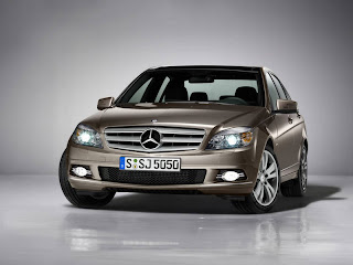 Benz C Class front view