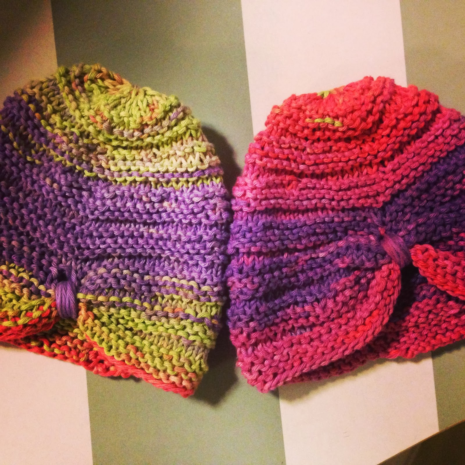 Glass Posse: KNIT: Baby Turbans