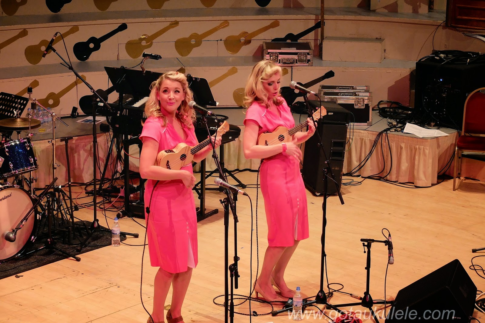 Mersey Belles on stage at GNUF 2014