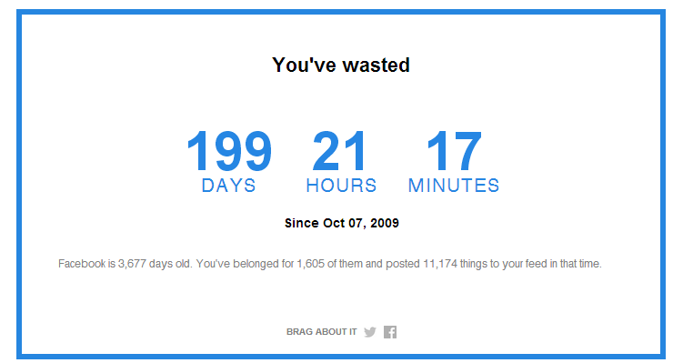 How Much Time You Spend on Facebook: Facebook Time Calculator