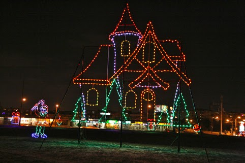 Toronto Fun Places: Downsview Park Christmas lights 2013