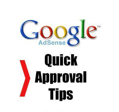 google adsense approval blog