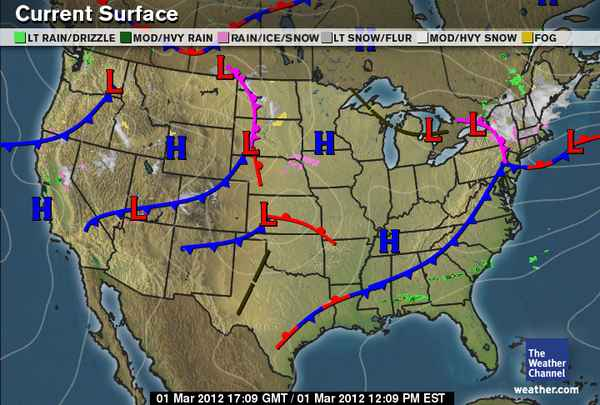 Best Classic Weather Map Images   Printable Map   New