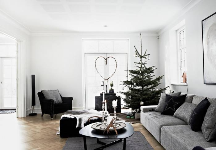 Decoracion navideña  diferente y bonita hogar estilo nordico