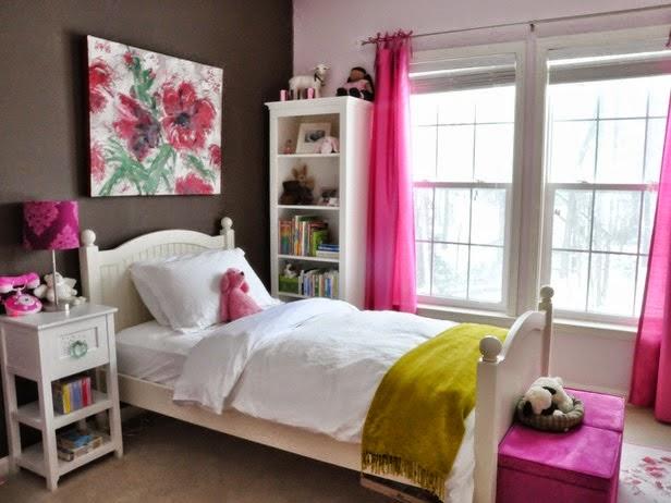 Desain minimalis kamar anak perempuan