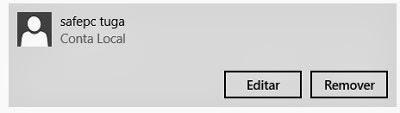 criar um usuário no Windows 8