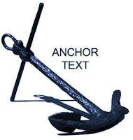 Anchor Text adalah teks pada link