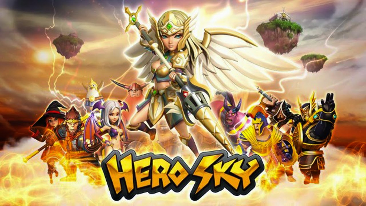 Hero Sky: Epic Guild Wars Gameplay IOS / Android