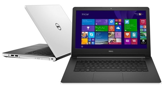 Notebook da linha Inspiron, da Dell, tem Windows 10 de fábrica