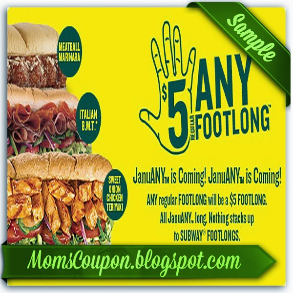 picture about Printable Subway Coupons named subway discount coupons 2014 cellular