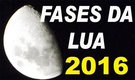Consulte o Calendário Lunar