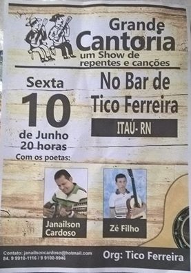 CANTORIA COM JANAILSON CARDOSO