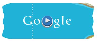 Format Permainan Logo Google Slalom Canoe