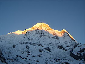 Annapurna a 10º do mundo 8091 m.