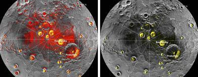 Ditemukan Es di Planet Merkurius
