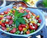 Summer Black-Eyed Pea Salad (A Veggie Venture)
