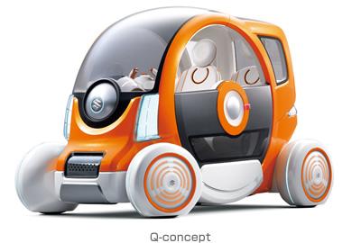 Suzuki Q-concept - Subcompact Culture