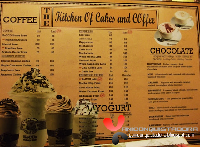 The Kitchen of Cakes and Coffee Tomas, Morato