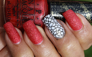 OPI Magazine Cover Mouse with Uberchic Stamping Accent