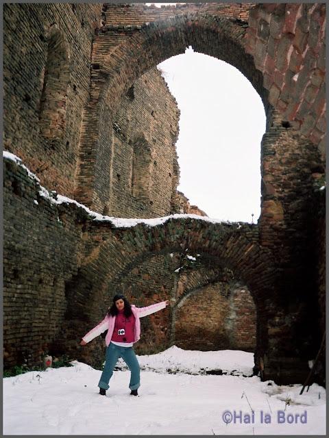 ruine cetate slimnic iarna 2007