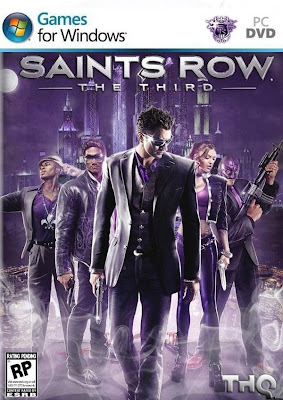Saints Row: The Third PC Cover