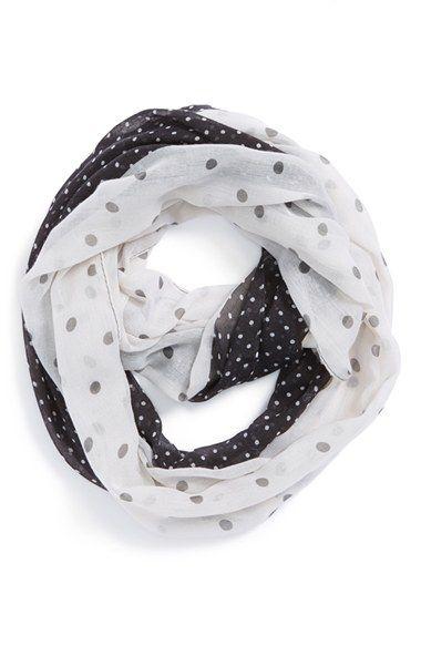 cute double polka dot scarf