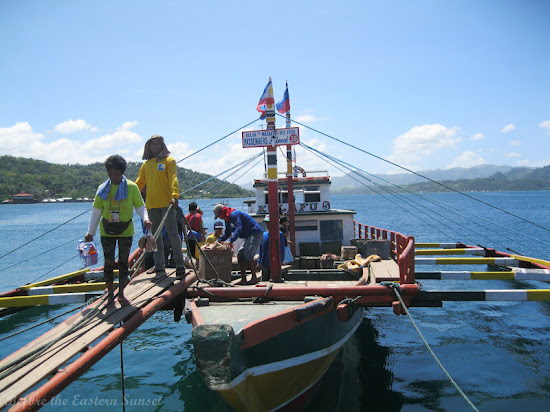 Kulafu berthed at Masbate City, Bicolandia