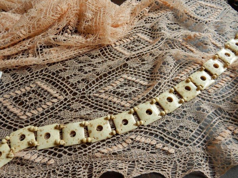 Te Koop: zalmroze (bruids)shawl.