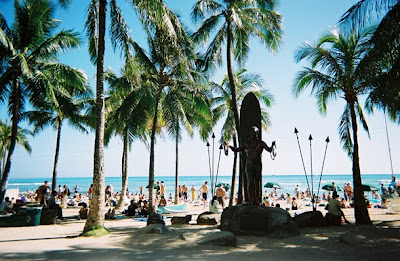 Duke Kahanamoku Beach Hawaii